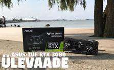 VIDEO ÜLEVAADE: ASUS TUF RTX 3080 - Maailma PARIM Videokaart mängimiseks on väljas!