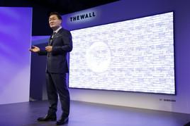 Samsung näitas tehnikamessil CES pea neljameetrise diagonaaliga hiigeltelerit ning tehnoloogiauuendusi nii koju kui ka autosse