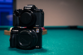 1200€ maksva Canoni kompakt G1X3 esmamuljed - videoülevaade