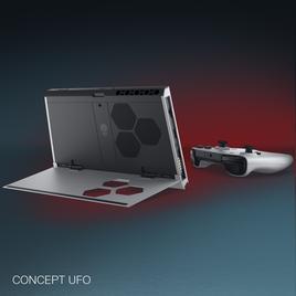 Dell ja Alienware näitasid CES-il volditavat sülearvutit ja ideearvutit Concept UFO
