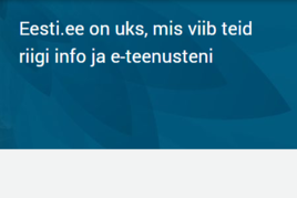 Eesti.ee uueneb