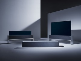 LG tutvustab maailma esimest kokkurullitavat OLED telerit