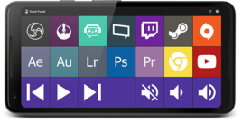 TouchPortal - nutiseadmest kaugjuhtimispult arvutile