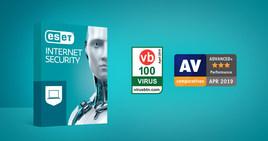 ESET Internet Security't  tunnustati AV Comparatives ja Virus Bulletin'i auhindadega