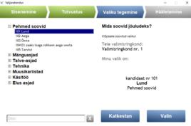 Algas e-hääletamise keskkonna avalik testimine