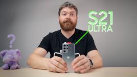 VIDEO: Samsung Galaxy S21 Ultra Karbist välja ja esmamuljed - Väga paljulubav.