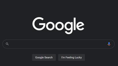 Google'i otsing sai lõpuks tumeda režiimi