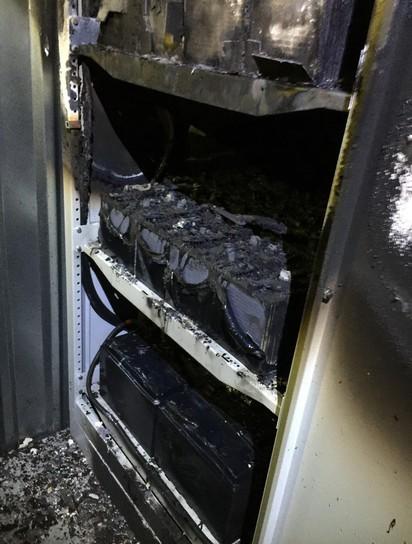 Keskkonnaministeeriumi serverite ruum läks põlema - Maa-ameti infosüsteemid ei tööta