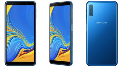 Samsung toob turule kolme kaameraga Galaxy A7 nutitelefoni