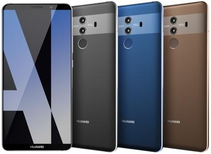 Huawei tutvustas telefone HUAWEI Mate 10 ja HUAWEI Mate 10 Pro