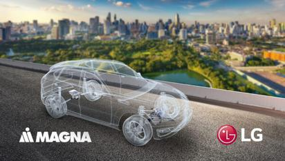 Elektroonikafirma LG lööb käed maailma ühe suurima autoosade tootjaga Magna