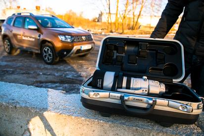 Objektiivi hinnaga Uus auto - Dacia Duster2. Videoülevaade