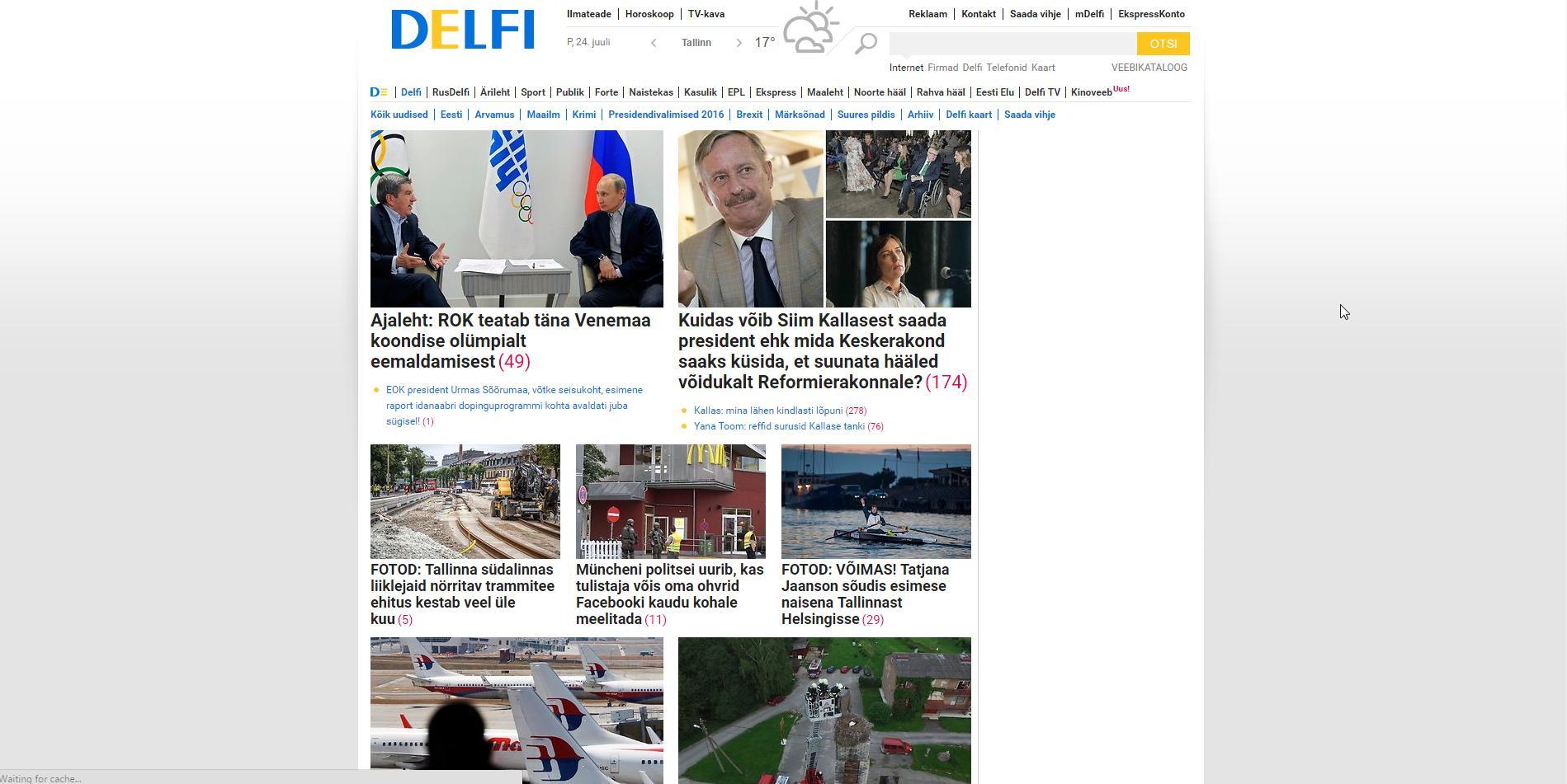 f131395da00 Delfi reklaamid ajavad hulluks - blokkija ei toimi :: Hinnavaatluse ...