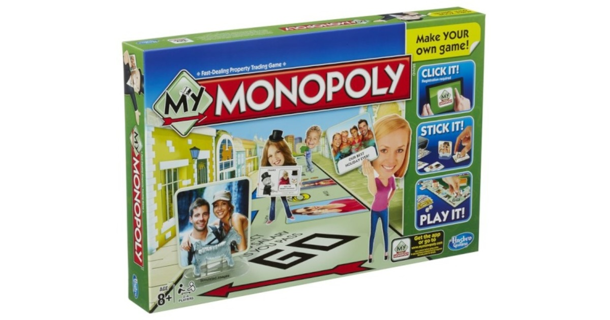 03b05e709b1 Hinnavaatlus - Hasbro Monopoly lauamäng My Monopoly