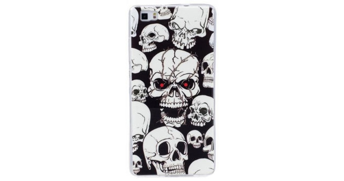 2d7d497f25a Hinnavaatlus - Mocco Fashion Case Glow in The Dark Skull For Apple iPhone 7  / 8