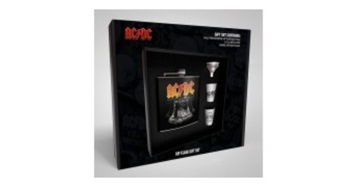 AC//DC Hip Flask Set