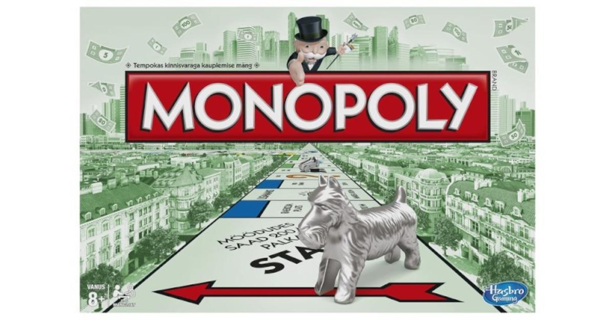 2e21cb0b37b Hinnavaatlus - Hasbro lauamäng Monopoly (eestikeelne)