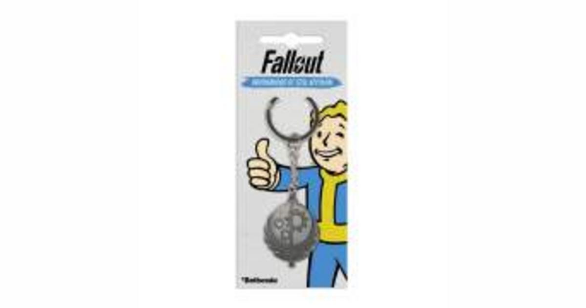 Loot Crate Fallout Brotherhood of Steel Key Chain