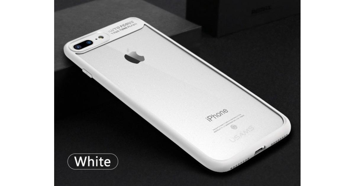 0d6617ee3b3 Hinnavaatlus - Apple lisavarustus iPhone 7 Plus läbipaistev kaitse valge  USams