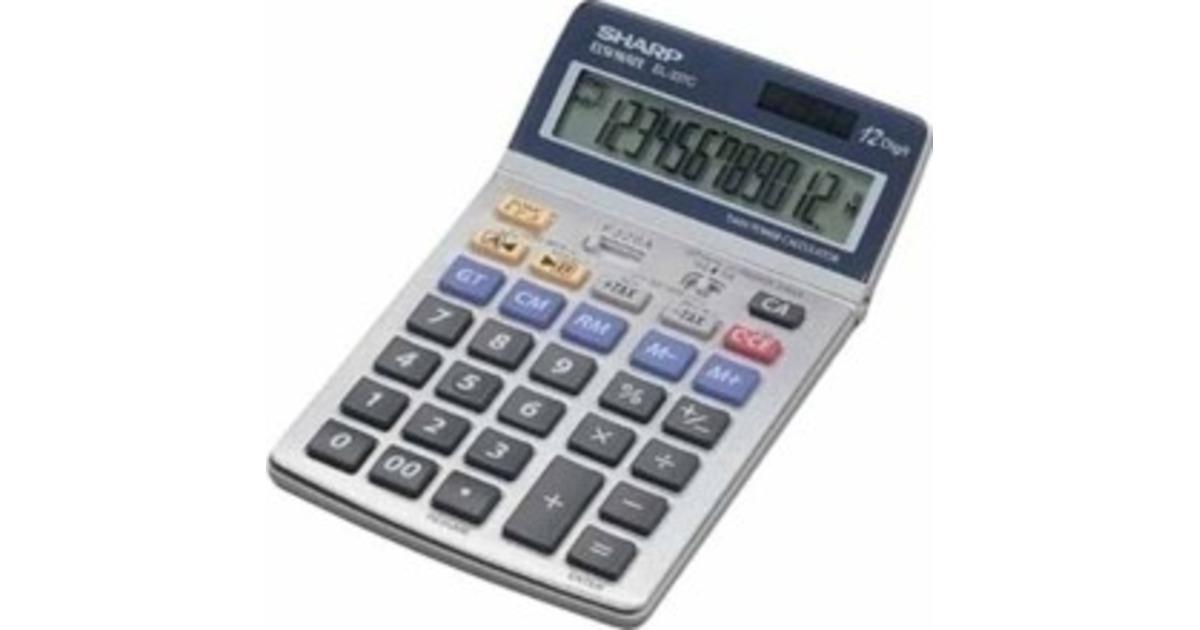 90e025ff83b Hinnavaatlus - Sharp kalkulaator laua EL-337C