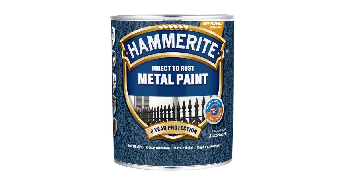 9ae74dacc23 Hinnavaatlus - Hammerite Metallivärv Hammered, 750 ml, roheline