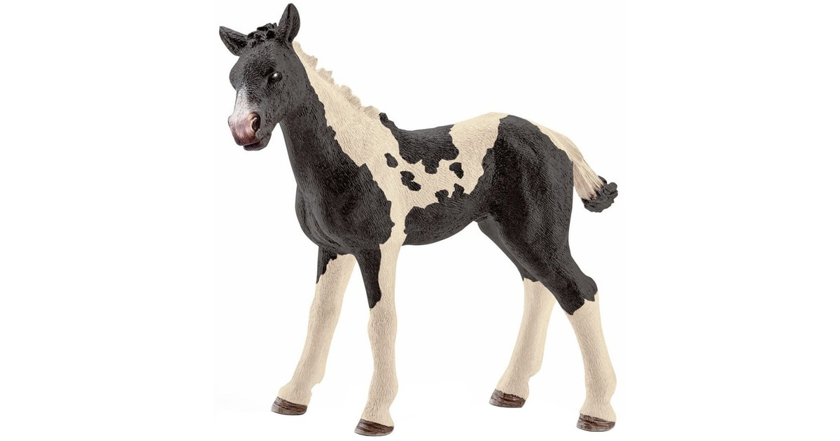 Schleich North America Pinto Foal Toy Figure 13803