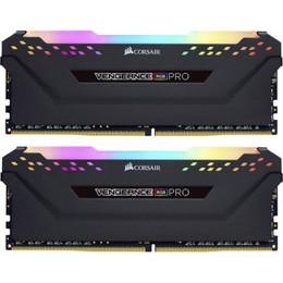 Corsair DDR4 Vengeance RGB PRO black DIMM kit 16GB, DDR4-3600, CL18