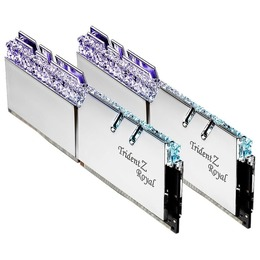 G.Skill DDR4 Trident Z Royal 16GB (2x8GB) 4400MHz CL18 1.4V XMP 2.0 silver