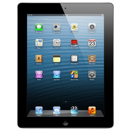 Apple  Kasutatud iPad 4 (Retina Display) 64 GB Wi-Fi Black (Grade C)