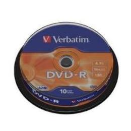 Verbatim DVD-R 4.7GB 16X 10pack scratch resistant surface cake box