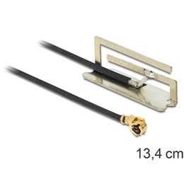 Delock Antenn: 1.5dBi ac/a/h/b/g/n PIFA, MHF/ U.FL-LP-068