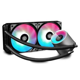 Deepcool Vesijahutus Castle 240 RGB Intel, AMD, cpu cooler
