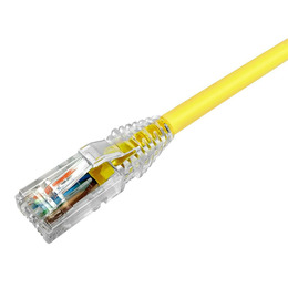 CommScope Võrgukaabel Cat6 UTP 0.5m, kollane LSZH