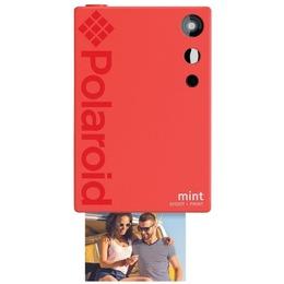 Polaroid POLSP02R Mint Shoot + Camera + Printer Red