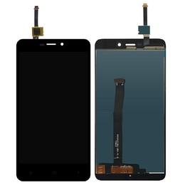Xiaomi Redmi 4A originaal must displei moodul klaas + LCD ekraan