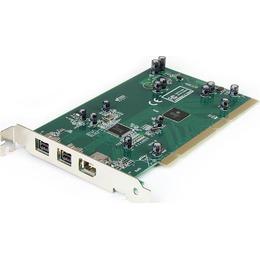 StarTech.com Firewire 3 PORT PCI 1394B  CARD