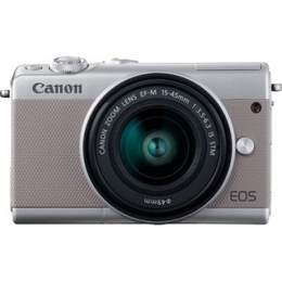 Canon EOS M100 + EF-M 15-45mm IS STM Silver
