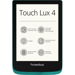 PocketBook Touch Lux 4, emerald green