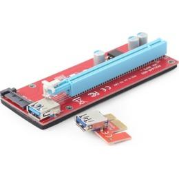 Gembird PCI Express Riser Card (SATA power connector) (RC-PCIEX-05)