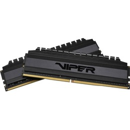 Patriot Memory DDR4 Viper 4 Blackout DIMM kit 16GB, DDR4-3200, CL16