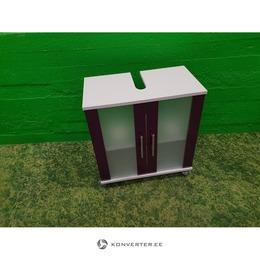 Valge-Lilla Valamukapp 2 Klaasuksega (kasutatud)