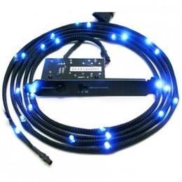 NZXT Sleeved LED kit- Two meters Blue N5