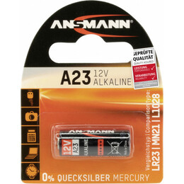 Ansmann  patarei Alkaline A 23 12 V for remote controls