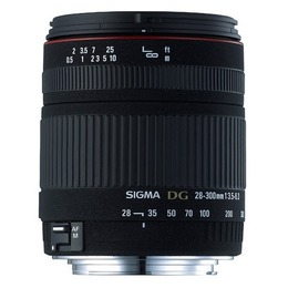 Sigma AF 28-300mm F3.5-6.3 DG ASP IF Macro Canon