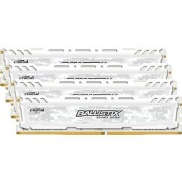 Crucial DDR4 Ballistix Sport LT White 16GB 2400MHz CL16 KIT OF 4 BLS4K4G4D240FSC