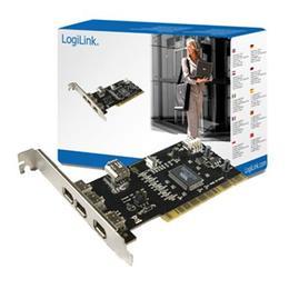 Logilink Firewire 1394 PCI 3-port