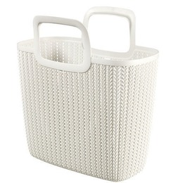 Curver Shopping Bag Knit Lily 25L 42x29x45cm White