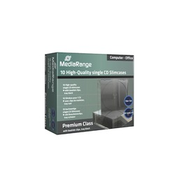 MediaRange CD karp 1-le, slim 5,2 mm, pakk
