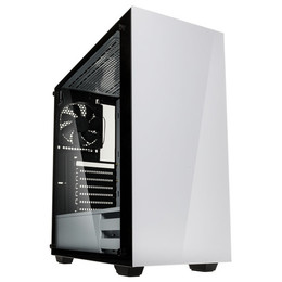 Kolink Stronghold Midi-Tower, Tempered Glass White