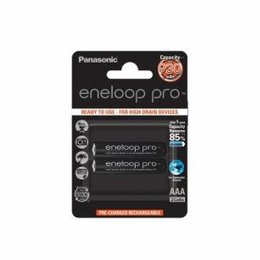 Eneloop Patarei PRO Ready To Use Rechargeable Battery 2x AAA BK-4HCDE-2BE (930mAh)